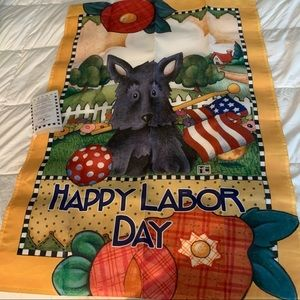 Mary Engelbreit Holiday Flag Collection Labor Day